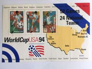 94世界杯紀念郵票