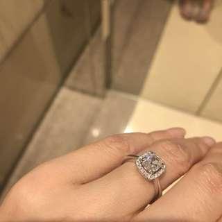 Forever mark 周大福一卡鑽石戒指