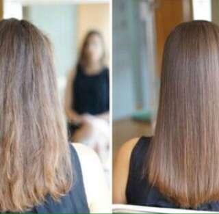 Laminating rambut sendiri dirumah