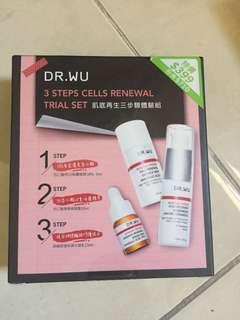 Dr Wu 3 steps cells renewal trial set