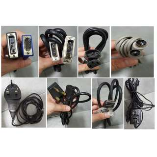 Power Adapter & Cables (New & Used)