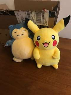 Pokemon Soft Toy (2 for $8)