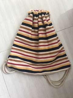 BN Stradivarius striped bag