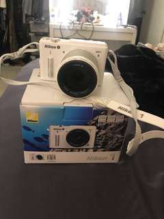 Nikon AW1 water proof camera