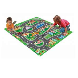 Kids Car play Mat with 5 cars brand new