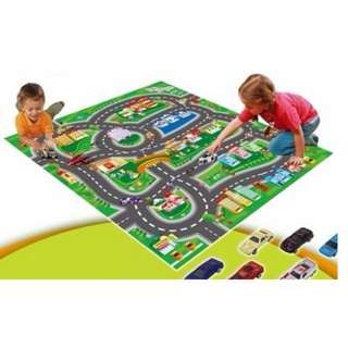 Kids Activity Mat with 5 cars brand new