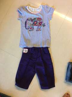 Mark & Spencer Girl Set 5-7Y