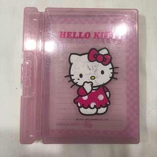 authentic Hello Kitty Pad & pen holder