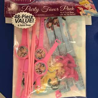 Disney Princess Party Set Party Bag Party Gifts Favours Hallmark
