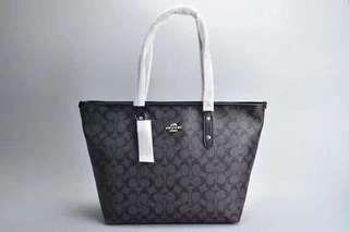 COACH ZIPPERED TOTES