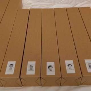 奈良美智 博物館限定 海報 一組八張