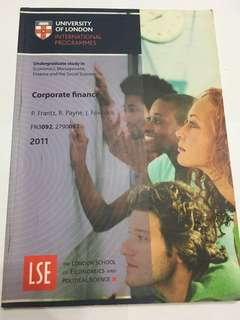 Corporate Finance UOL Textbook