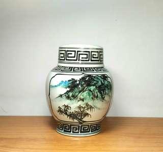 金門陶瓷   茶葉罐