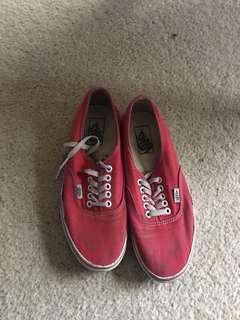 Old Red Vans for Sale