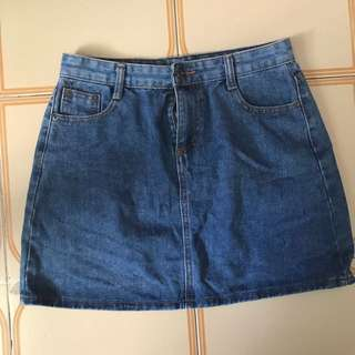 A-lineDenim skirt