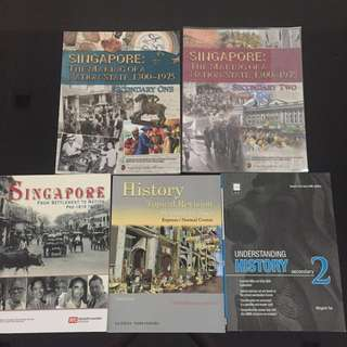 History Textbooks and guide books