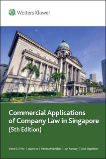 RMIT LAW2464- Singapore Company Law Textbook