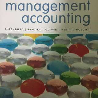 RMIT ACCT1063 Management Accounting and Business Textbook