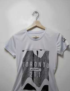 Graphic design toronto marathon t shirt