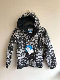 🚚 美國購回全新Columbia男童吸濕排汗防潑水防風外套S號(8)