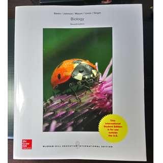 Biology 11Edition 生物學 第11版