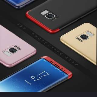 360°full protection Hybrid 3 In 1 Case For iPhone Samsung
