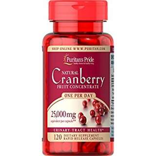 Puritans Pride Cranberry 120 caps