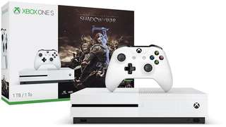 Xbox one s shadow of war