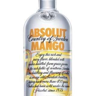 (SALE) Absolut Mango Vodka 40% 1000ml