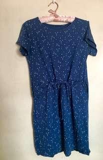 Blue Stars Dress