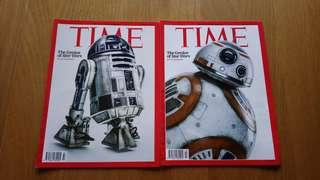 Times x starwar 雜誌2本,2個封面但內容一樣 (只剩店舖交收)