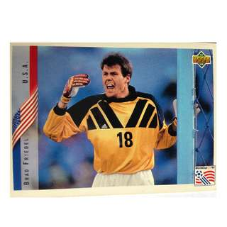 Brad Friedel (U.S.A) Soccer Football Card #16 - 1994 Upper Deck World Cup USA '94