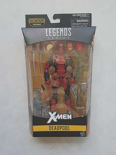 Marvel Legends Deadpool Juggernaut BAF Wave New and Sealed