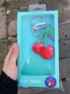 Sunny Life Cherry Key Ring