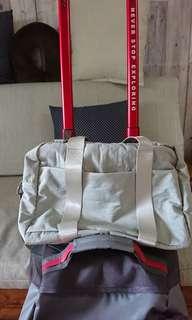 旅行用掛包+盥洗包2件