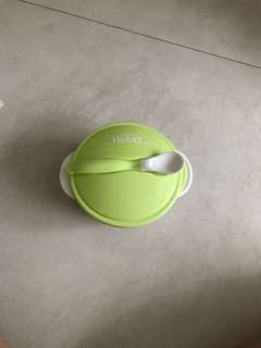 Baby toddler bowl and spoon