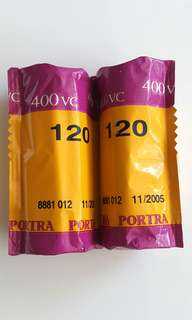 Expired 120 Film Portra 400VC
