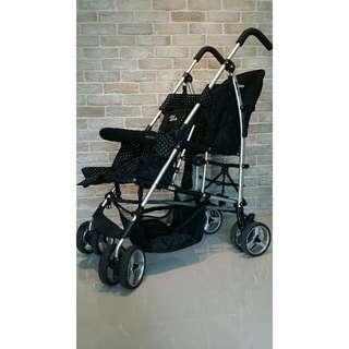 Mini Walker Kinderwagon Twin Tandem Stroller
