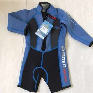 保暖連身泳衣 3.5mm Thermal Swim Suit