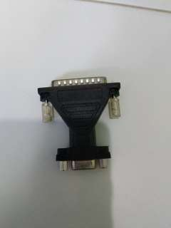 9 to 25 pin convertor