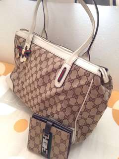 Gucci Handbag and wallet