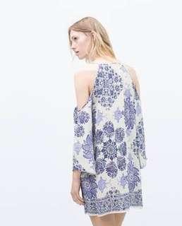 Porcelain Zara Dress look a like
