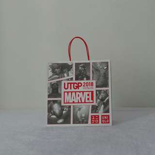 Uniqlo X Marvel 2018 Paper Bag