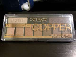 Copper collection eyeshadow