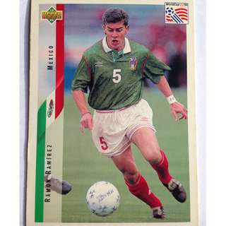 Ramon Ramirez (Mexico) Soccer Football Card #34 - 1994 Upper Deck World Cup USA '94