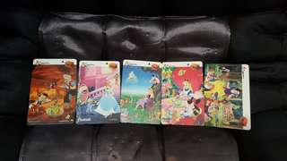 $2 phone card. (Disney).