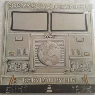 Bob Marley & The Wailers ‎– Babylon By Bus, 2x Vinyl LP, Island Records ‎– ISLD 11, 1978, UK