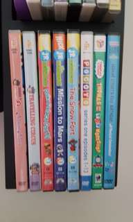Assorted dvd for kids