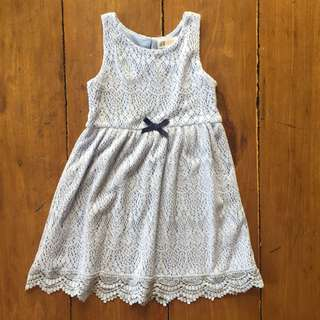 H&M Dress Lt Blue