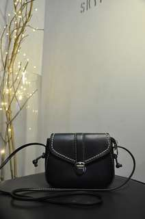 Women's Sling Bag - Black